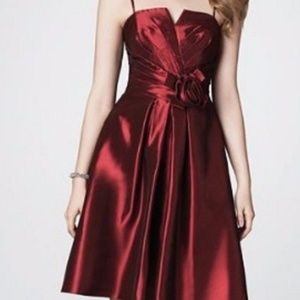 ALFRED ANGELO CRANBERRY RED FORMAL DRESS SIZE 8